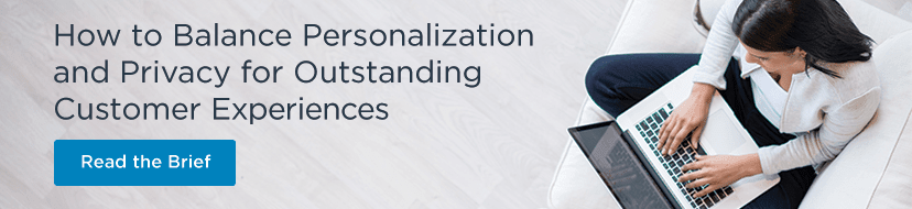 How to balance personalization and privacy for outstanding customer experiences