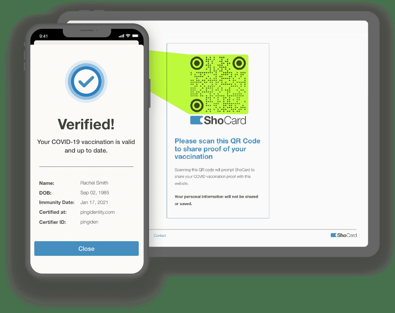ShoCard vaccine verification
