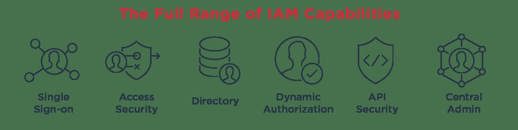 The full range of IAM capabilities