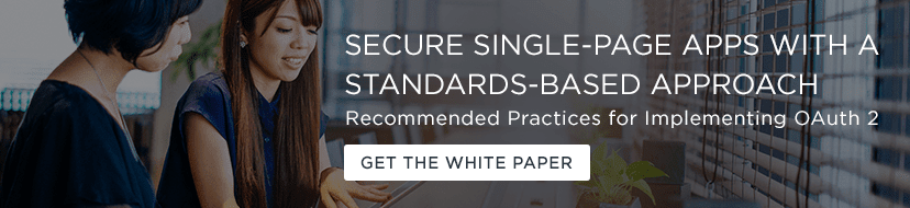 Secure Single Page Apps White Paper