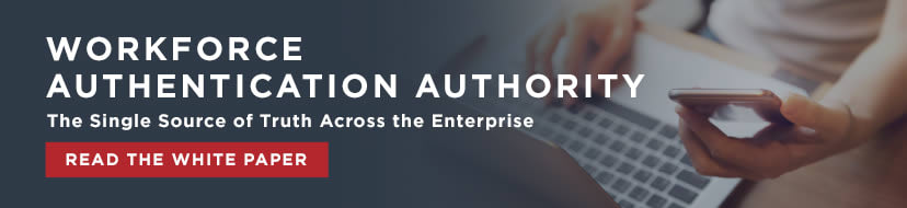 workforce authentication authority banner