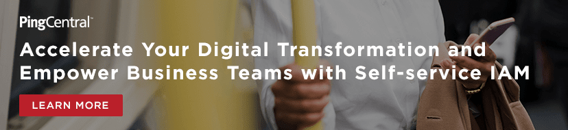 Accelerate your digital transformation and empower business teams with self-service IAM