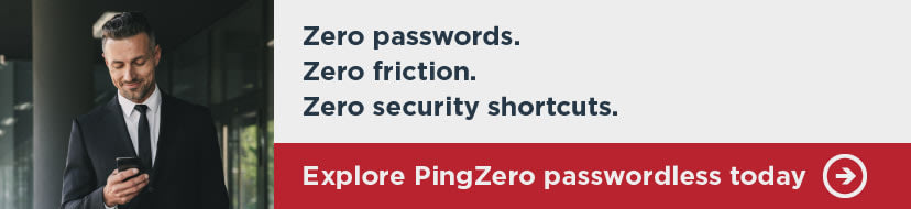 PingZero banner with link to more information