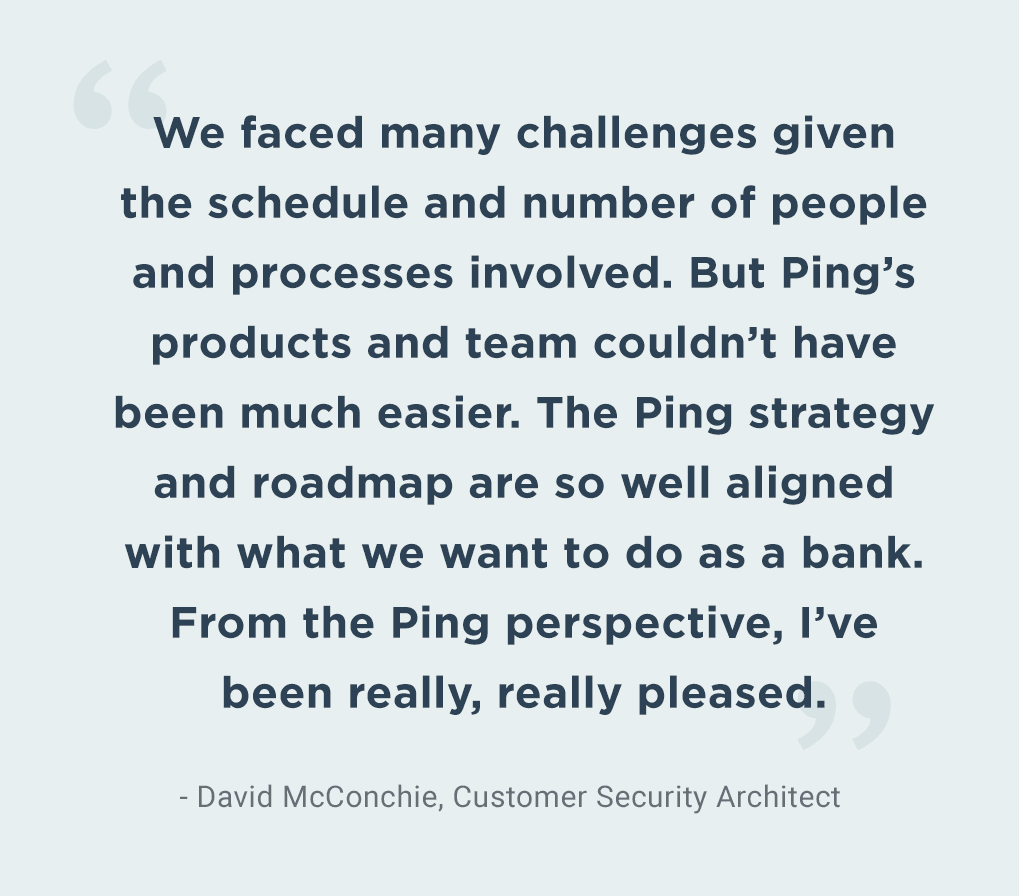 Quote from David McConchie, Tesco Bank's Customer Security Architect