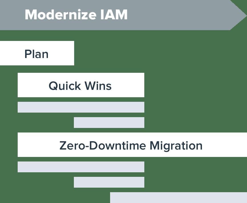 Modernize IAM graphic