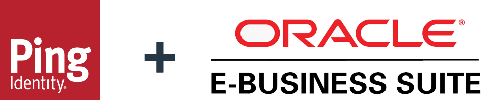 Ping Identity and Oracle EBS logos