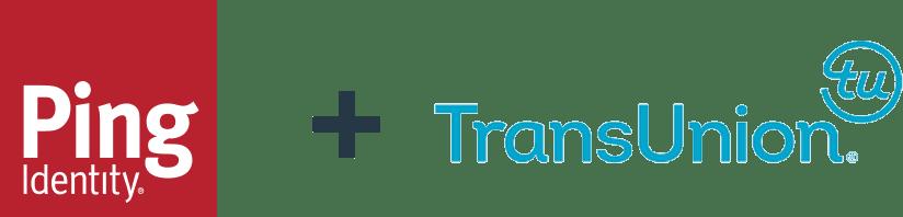 Ping Identity and TransUnion logos