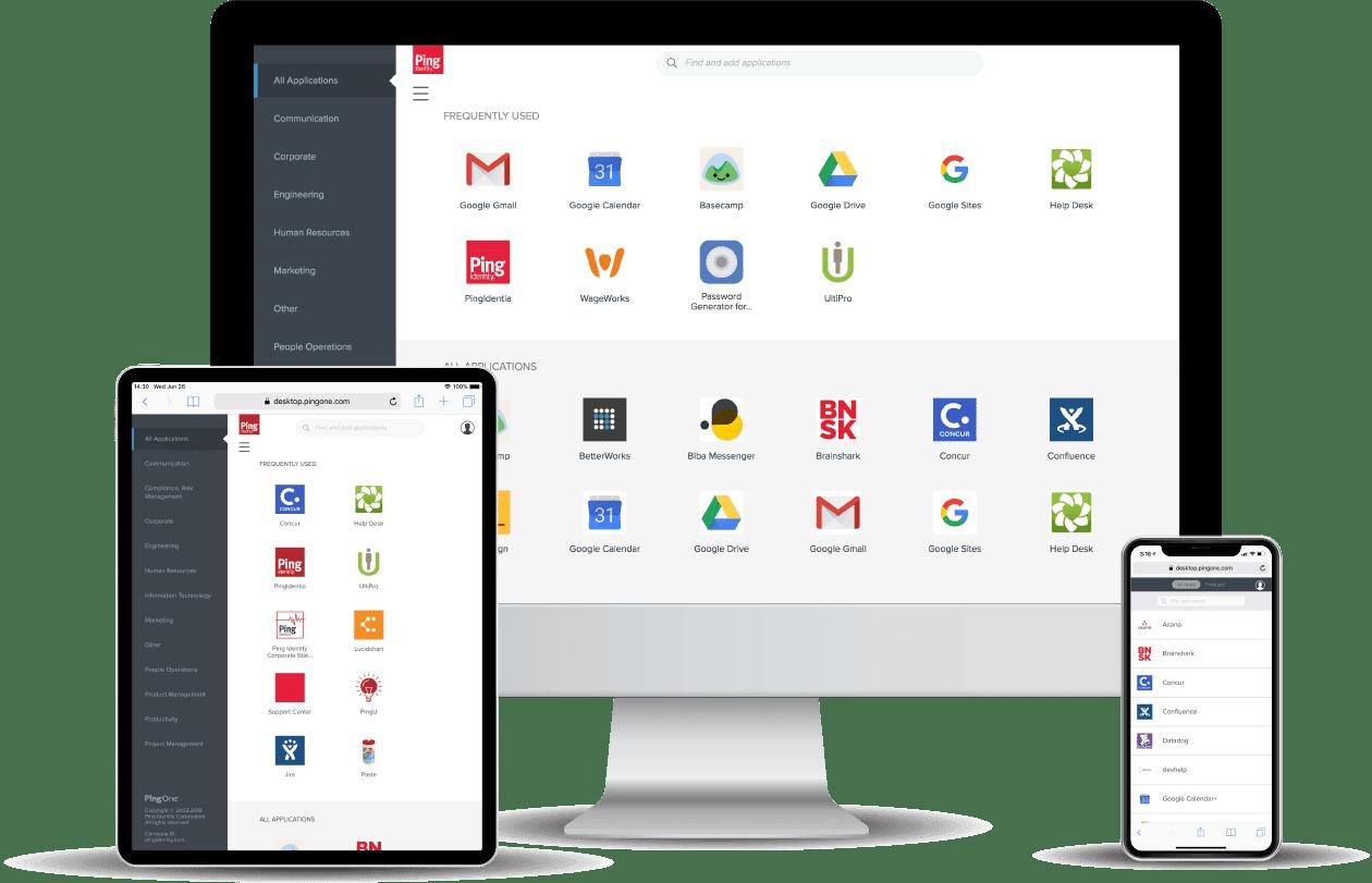 desktop, tablet and mobile phone.